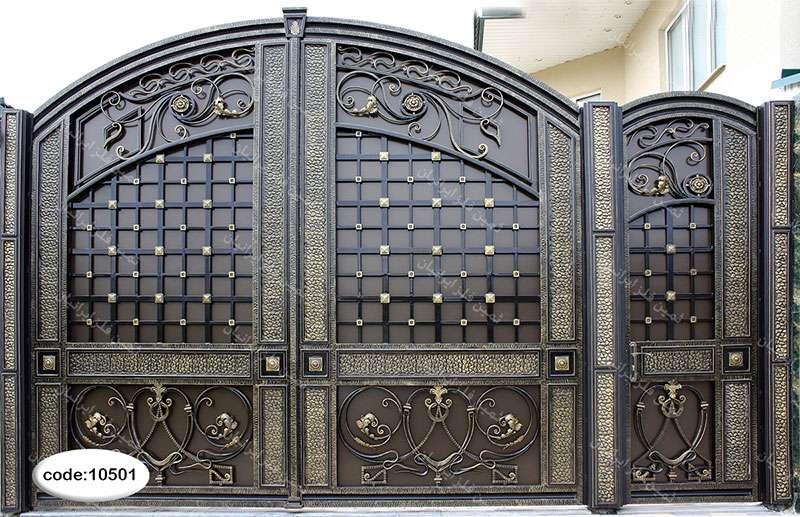 درب فلزی برای ورودی ساختمان
