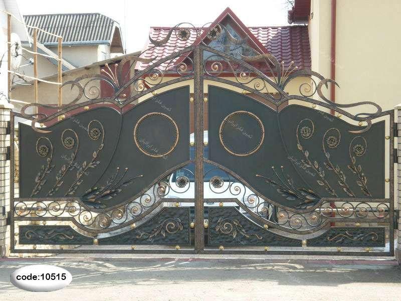 درب فلزی برای حیاط